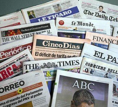 Agencia de Publicidad y Medios Discrepa - Periódicos